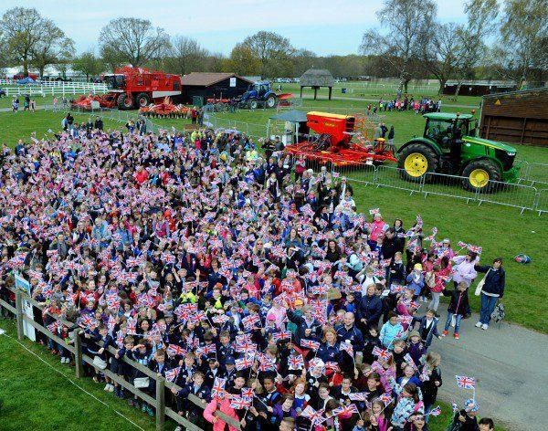 Children at the School Farm & Country Fair