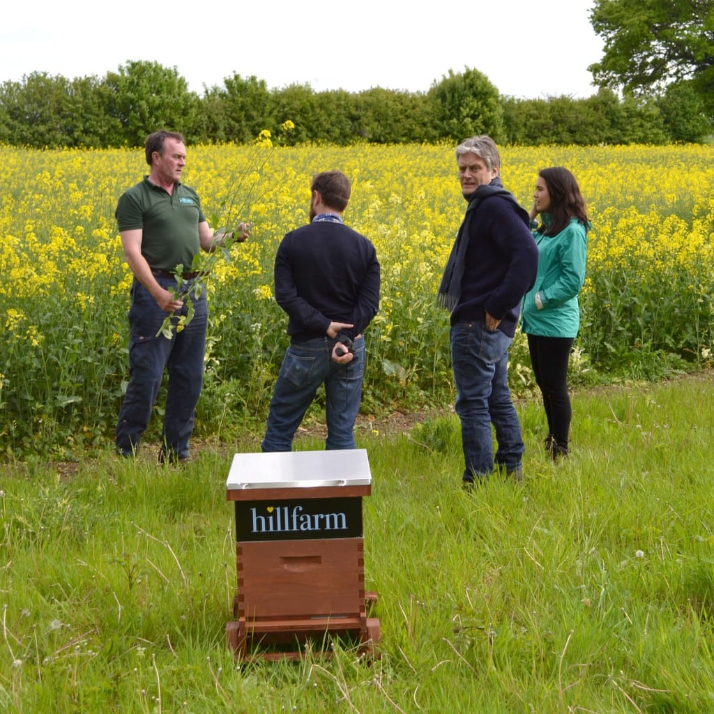 Sam Fairs talking to Friends of the Earth about the bees
