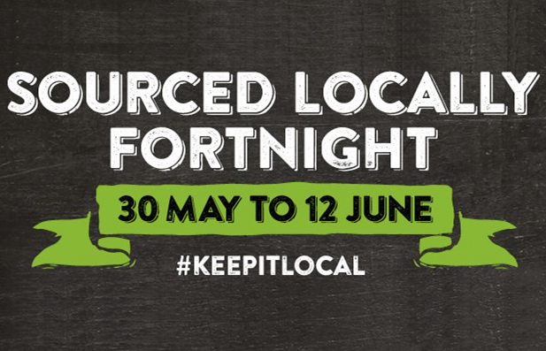East of England Sourced Locally fortnight logo